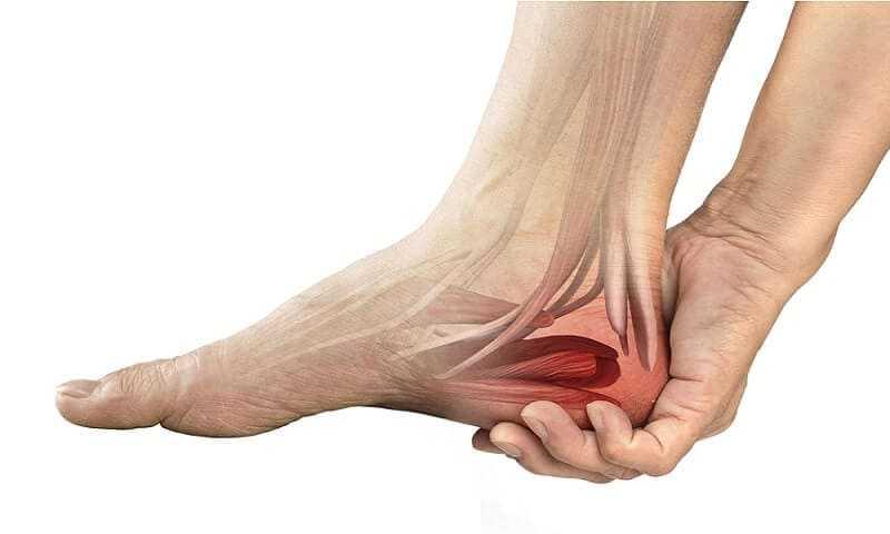 heel muscle pain
