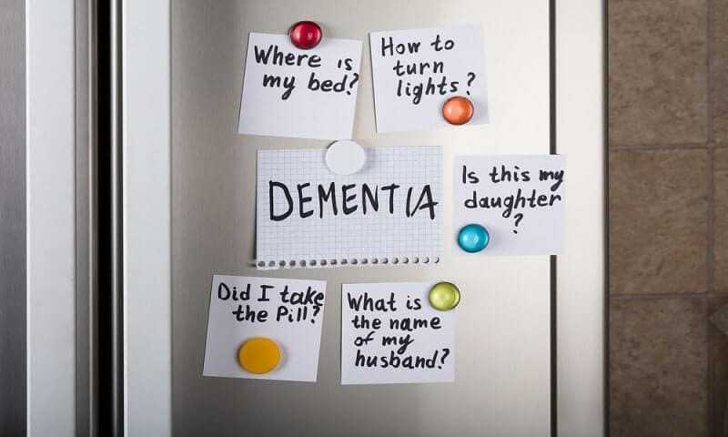 Memory loss with alzheimers disease
