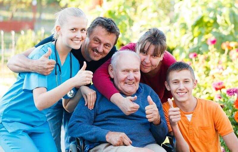 Alzheimer disease and family