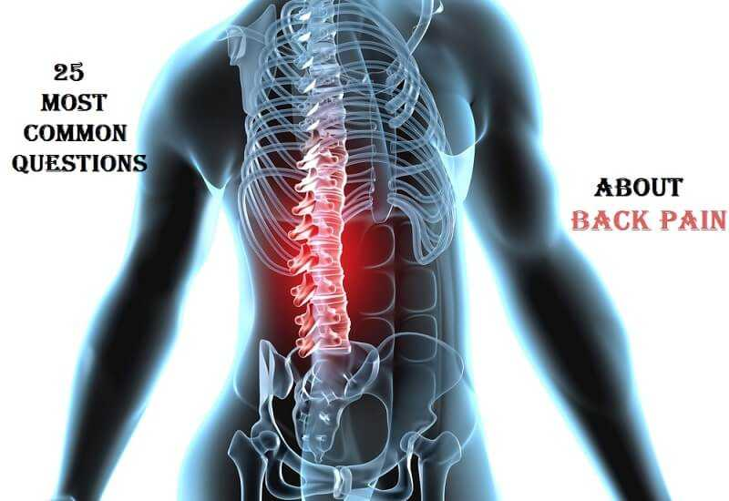 Most Common Questions about Back Pain