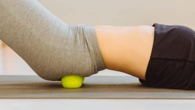 Back Pain Relief Using Tennis Ball Therapy